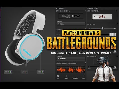 PUBG Headset Equalizer Guide (Steel Series Arctis)