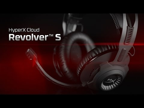 Gaming Headset with Dolby 7.1 Virtual Surround Sound – HyperX Cloud Revolver S